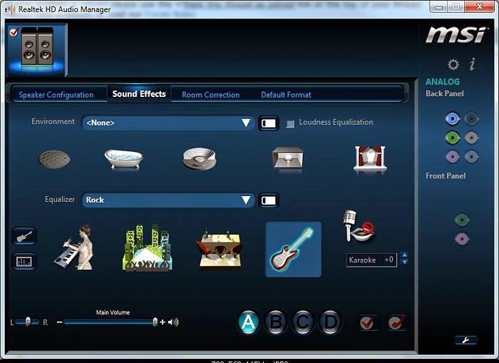 Realtek HD Audio Driver for Windows 7