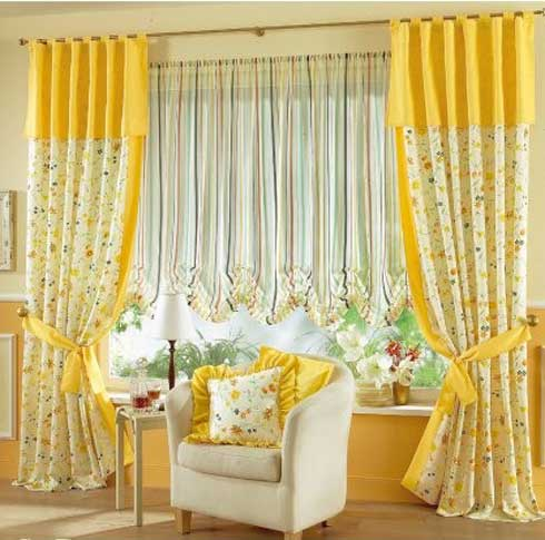 Design Ideas  Living Room on Window Curtains Ideas  Color  Style   Decorations Ideas