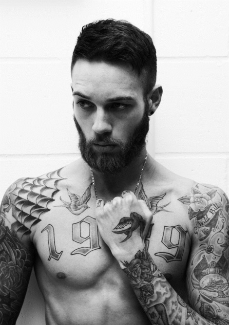 Billy Huxley by Darren Black for Fantasticsmag