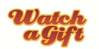 Watch a gift logo