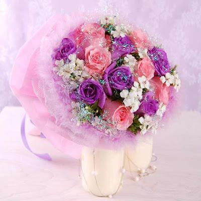 hoa cưới cầm tay 2014