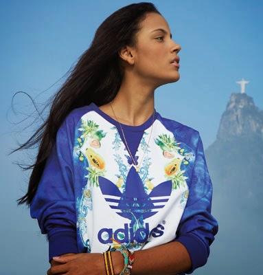 Farm e Adidas Originals nova coleção outono inverno 2014