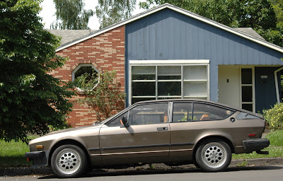 1985 Alfa Romeo GTV6.