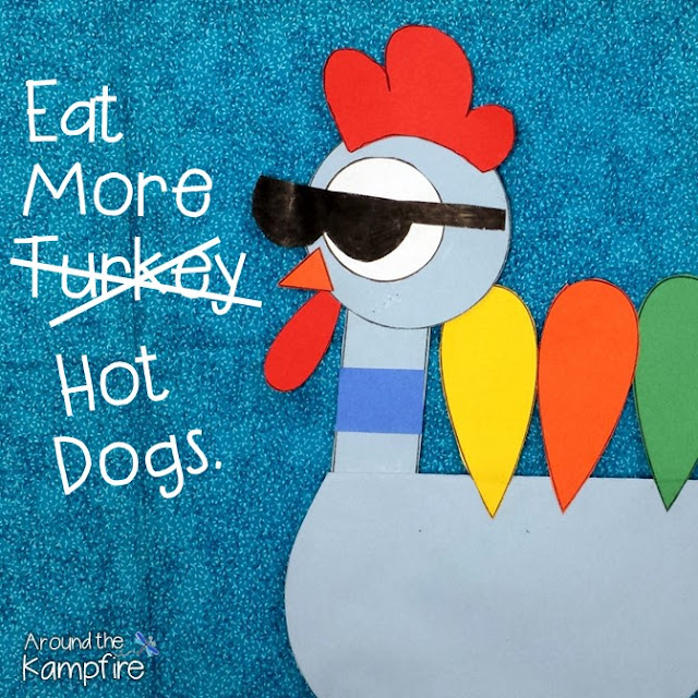 Thanksgiving persuasive writing craft booklet