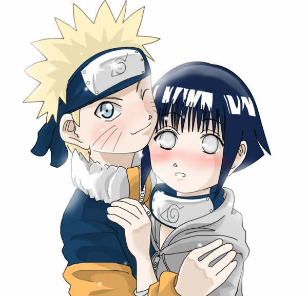 Os Casais De Naruto: Naruto E Hinata