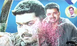 Puli First Day First Show Celebrations at Kasi Theatre
