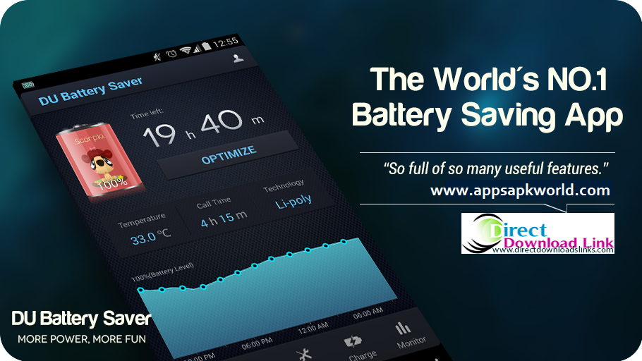 DU Battery Saver PRO & Widgets v3.9.8 Cracked APK