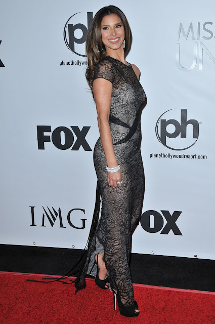 Actress, Singer, Model, @ Roselyn Sanchez At 2015 Miss Universe Pageant In Las Vegas