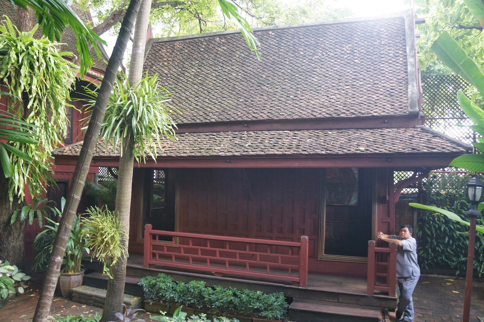 an analysis of the jim thomsons house Jim thompson house: silk trip - see 12,609 traveler reviews, 5,733 candid photos, and great deals for bangkok, thailand, at tripadvisor.