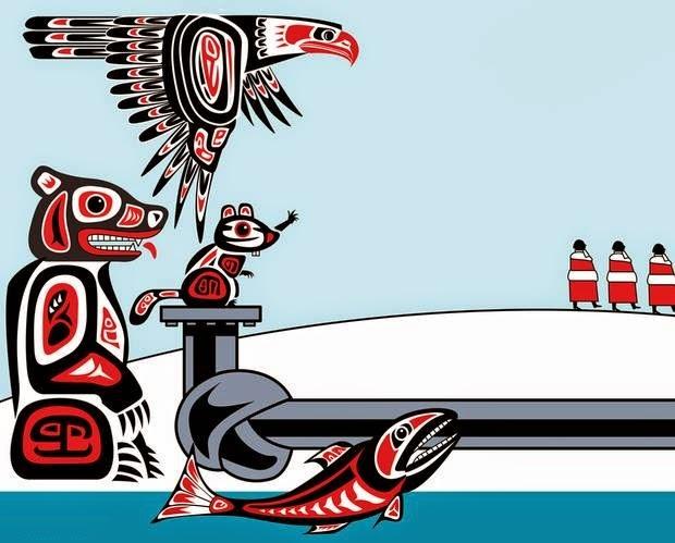 David Parkins: Native knots.