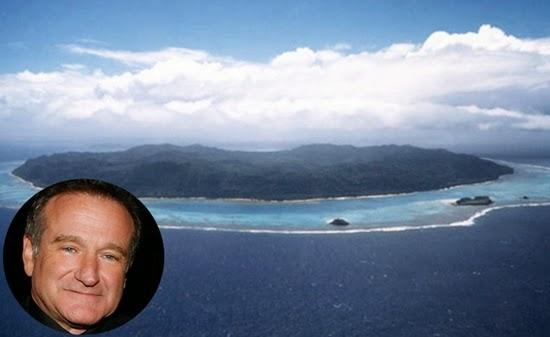 robin williams : selebriti yang memiliki pulau pribadi