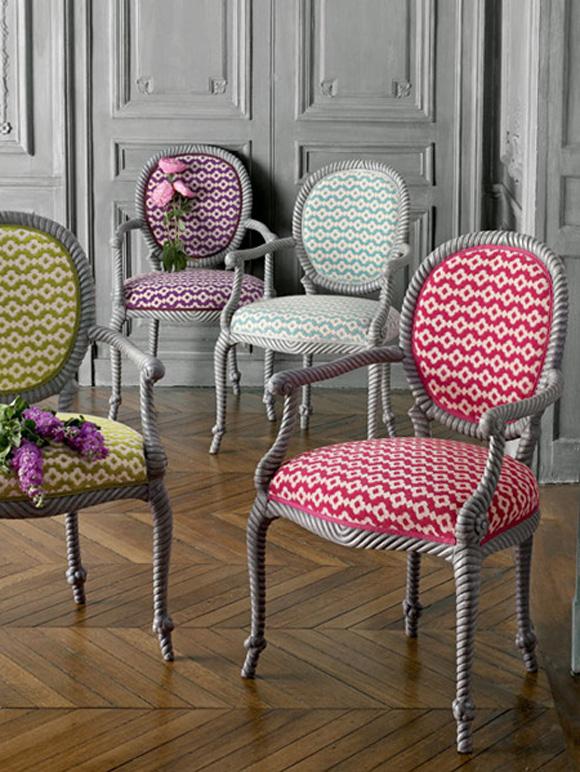 A mi manera de pomellato novias y sillas luis xvi - Sillas louis xvi ...