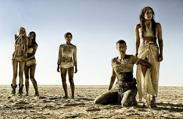 Charlize Theron Furiosa 5 Wives Mad Max 4 Fury Road still