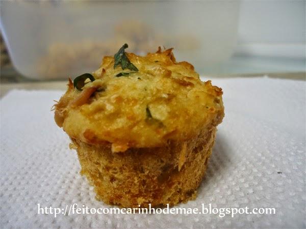 Receita de muffin de atum
