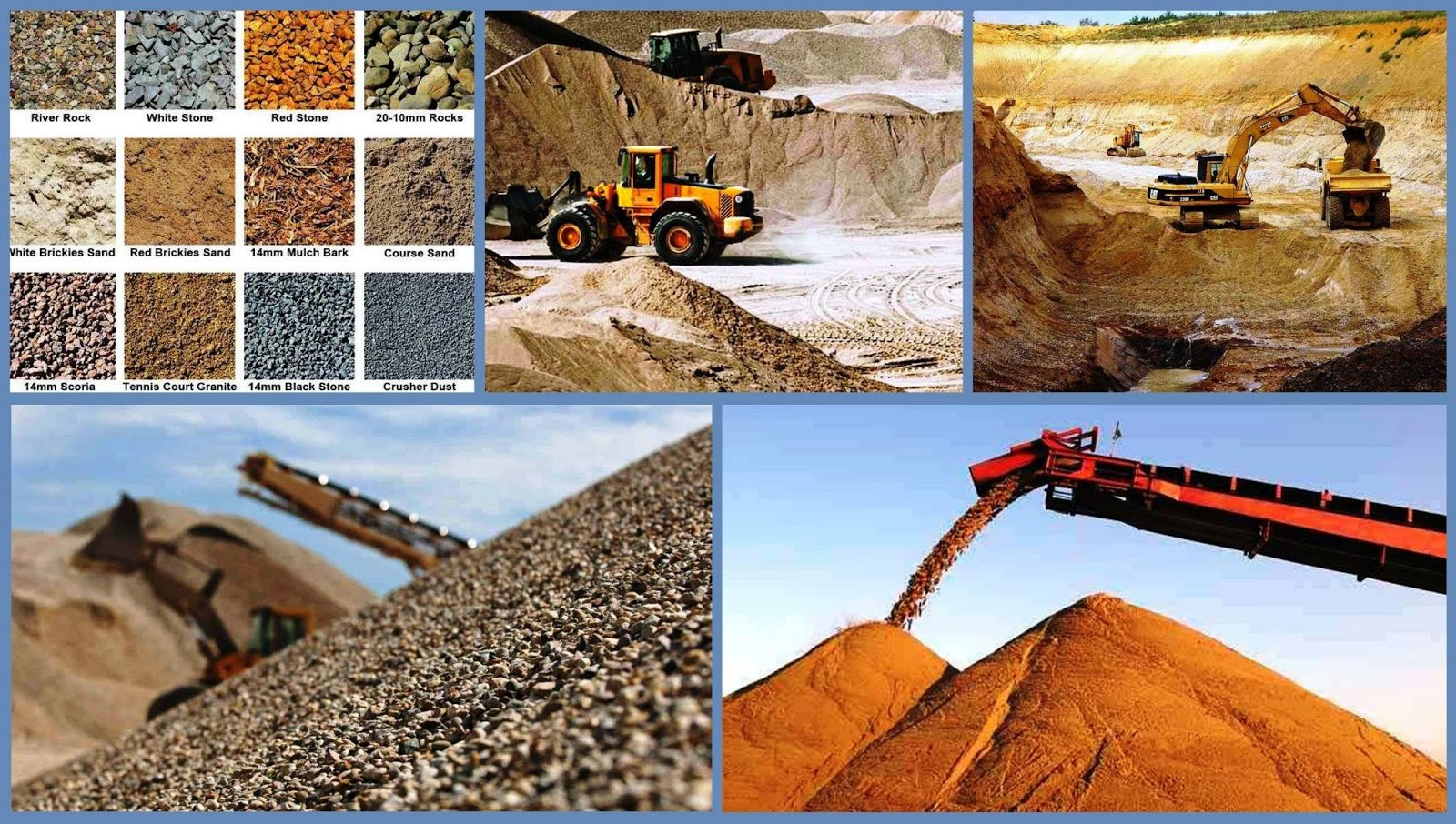 Sand & Gravel Company | Business Ideas