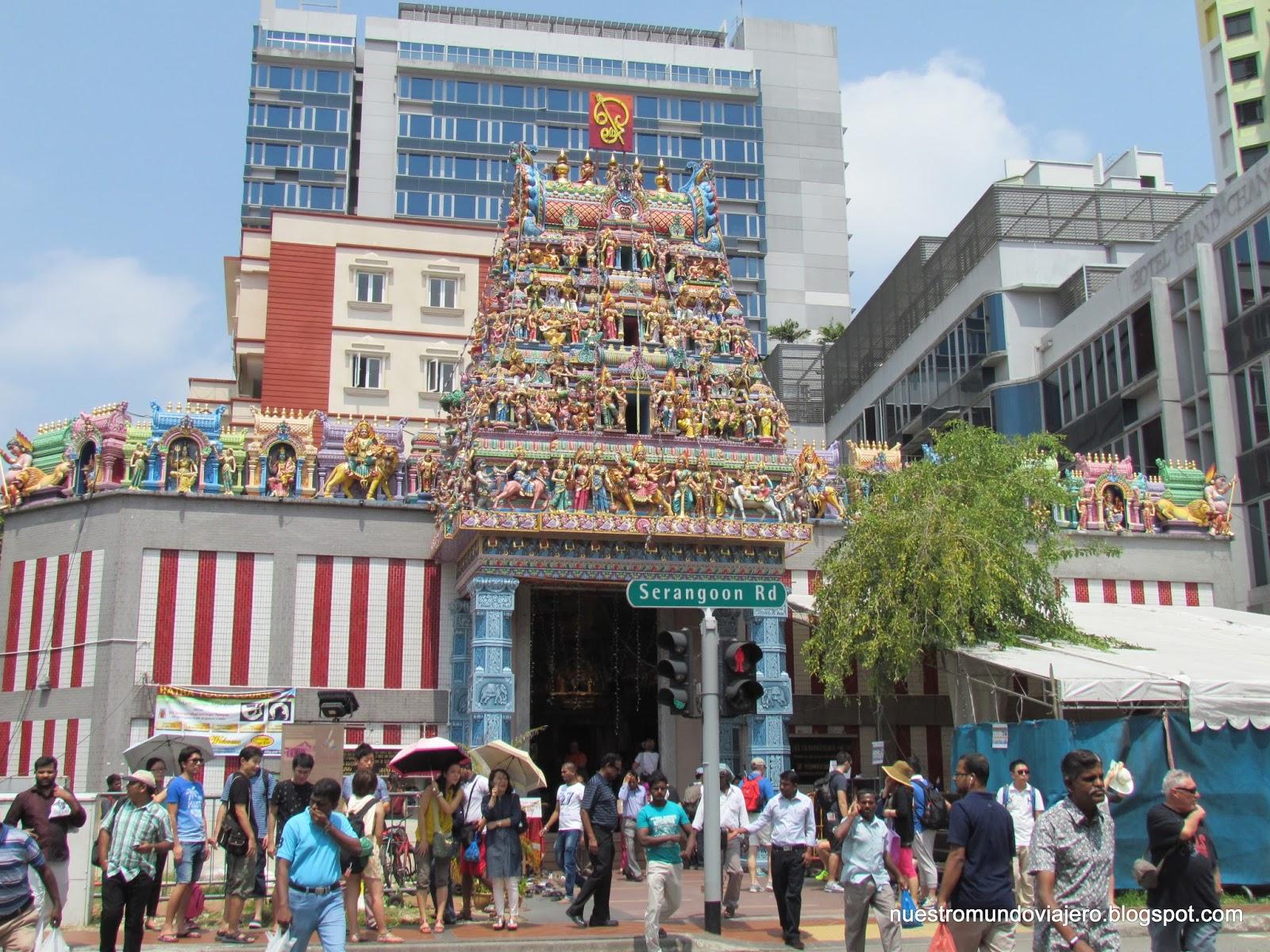 Singapur; un paseo por Little India y Chinatown ~ NUESTRO MUNDO VIAJERO