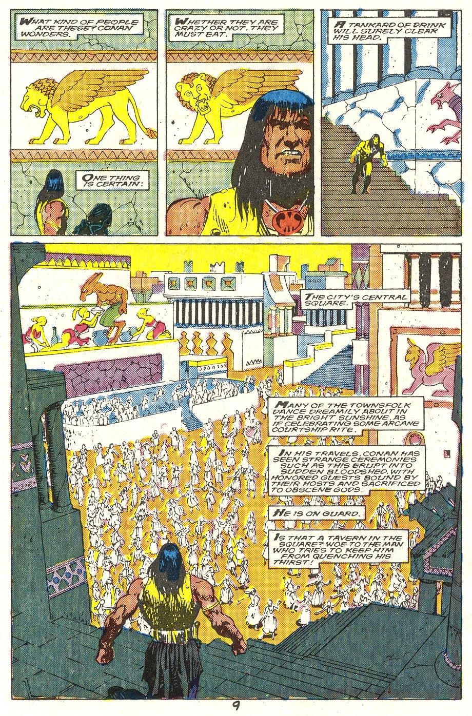 Conan the Barbarian (1970) Issue #214 #226 - English 8
