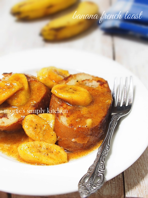 resep french toast saus pisang