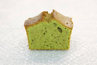 Matcha Green Tea Pound Cake japanese desert recipe