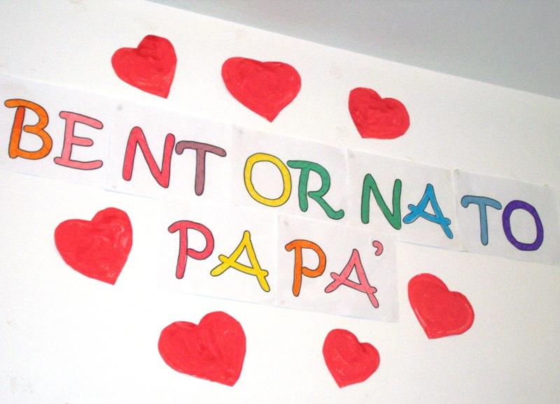 Preferenza Studiamando liberamente: Lavoretti per il papà: BENTORNATO A CASA! YC73