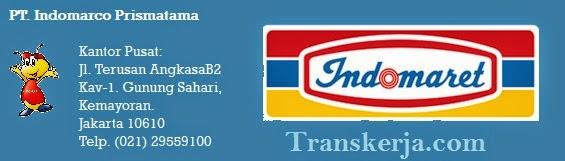 44 Lowongan Kerja PT. Indomarco Prismatama (Indomaret group)