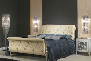 غرف نوم رائعة باللون الازرق