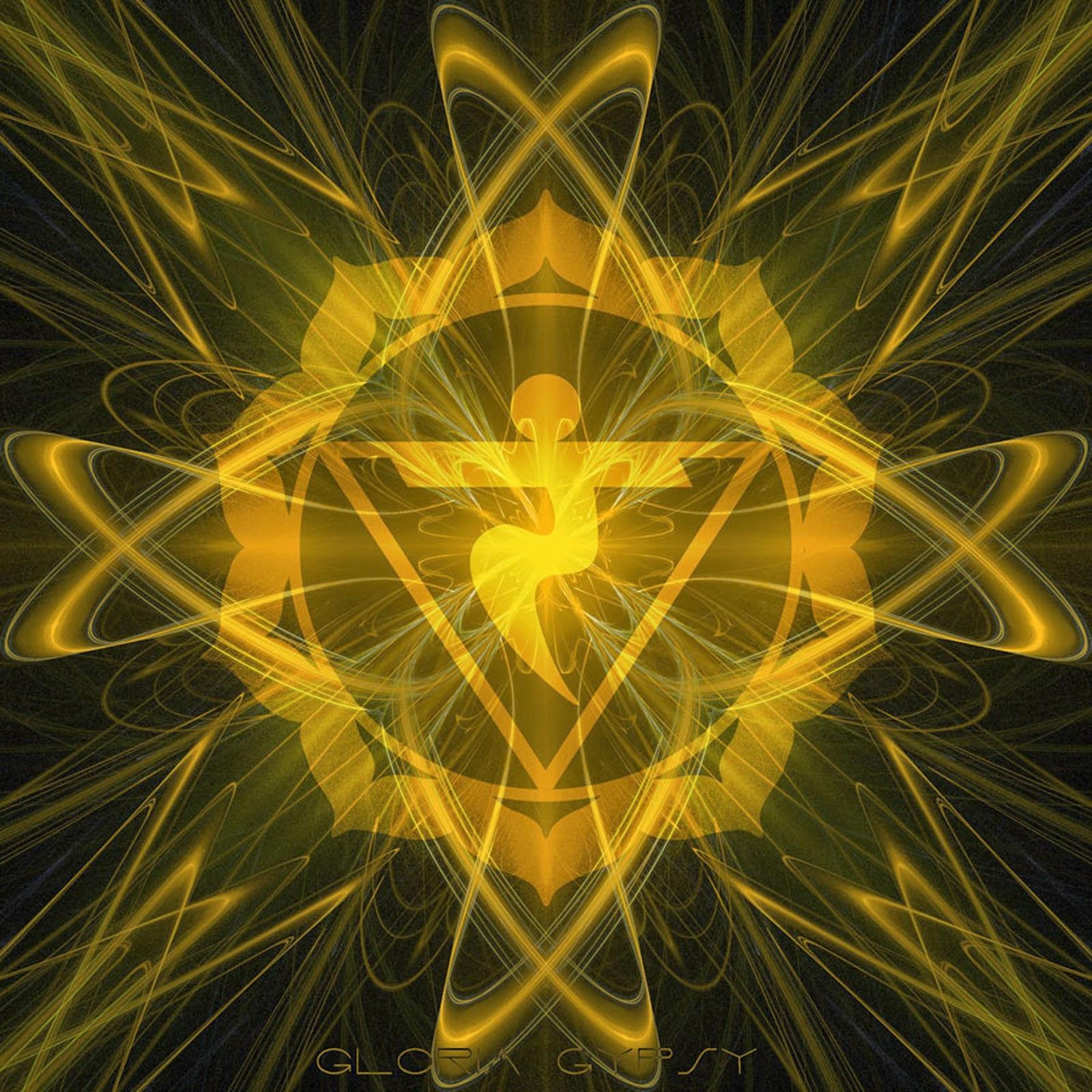 Manipura Solar Plexus Chakra by Gloria Gypsy