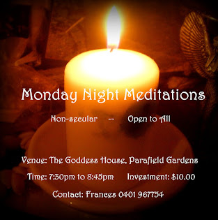 AUGUST: Monday Night Meditations