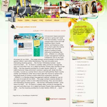 Soul Spa in Poland Blogger Template. free download template blogspot