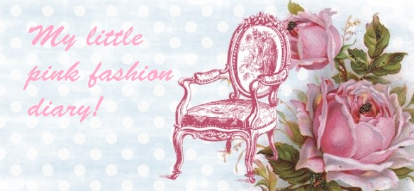 My little pink fashion diary!