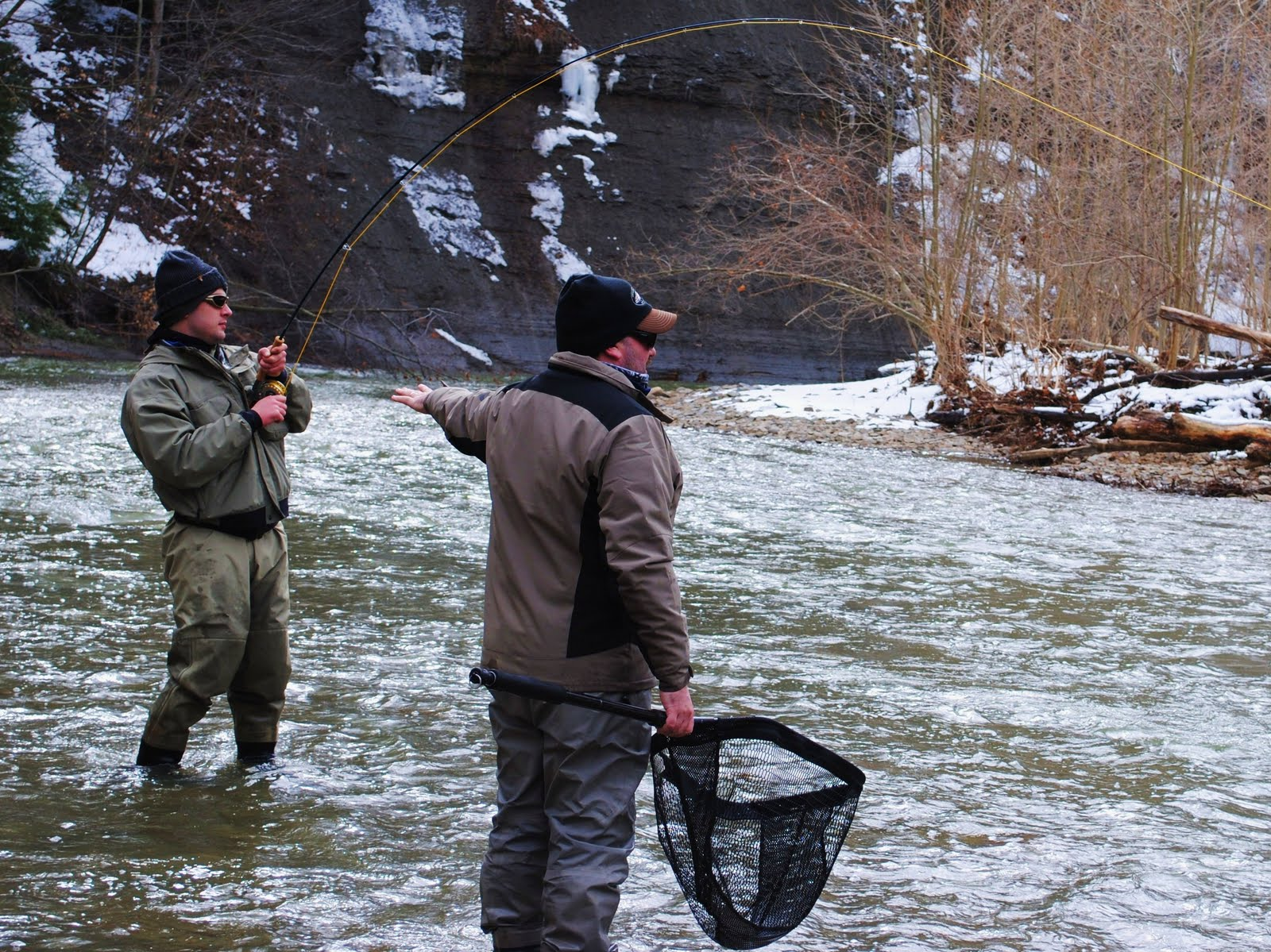Lake erie tributaries how to read usgs gauges for Elk creek fishing report