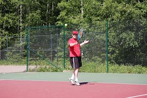 Tennisvalmennusta Kangasalalla, Tampereella, Pirkkalassa, Nokialla, Lempäälässä