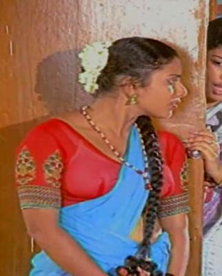 Vanitha Hot Aunty Blouse Bra