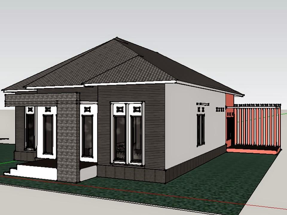 Berdiri Diatas Kaki Sendiri 101 Desain Rumah Minimalis