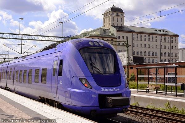 tågstrejk, kristianstad, järnvägsstation
