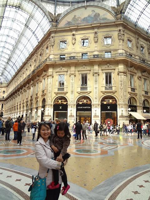 Galleria Vittorio Emanuele II | Milan | Chichi Mary Online Kid's Boutique