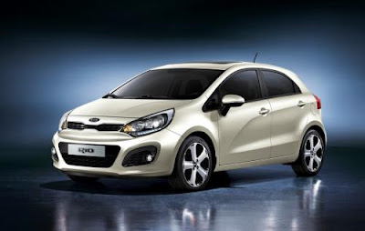 Next-gen 2012 Kia Rio teaser sketches released :Photo and reviews