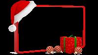 Moldura de Natal com fundo transparente - 4