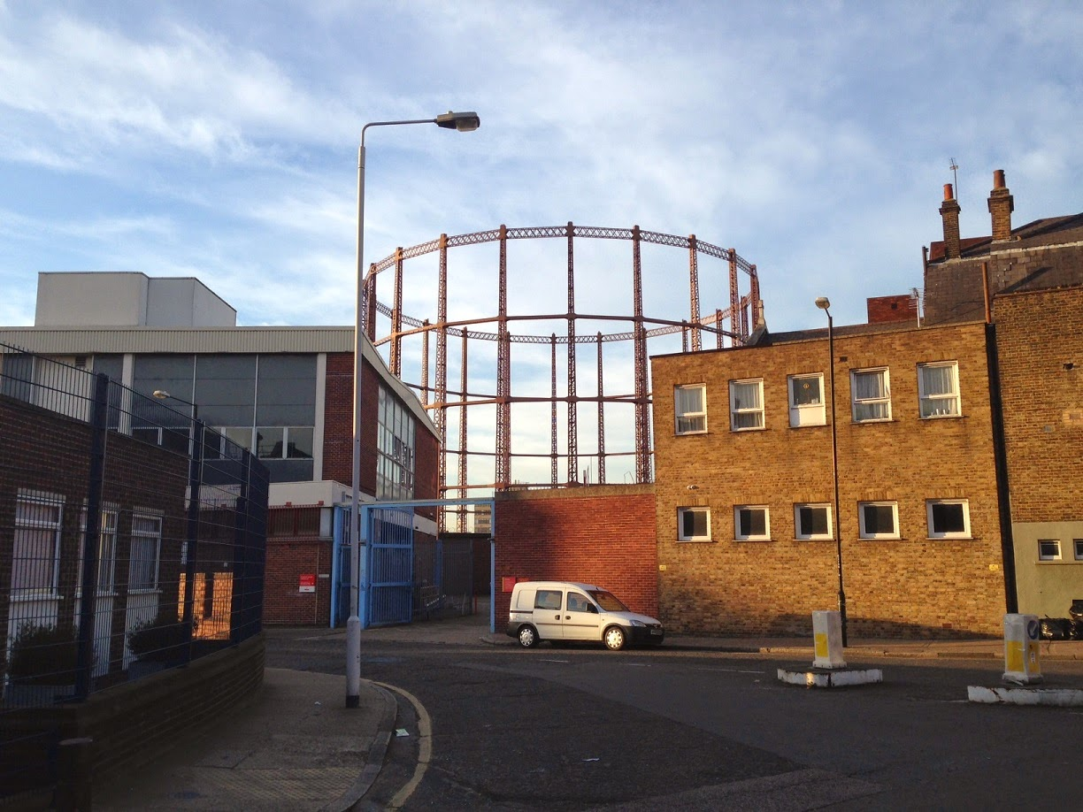Hackney gasworks, London E2