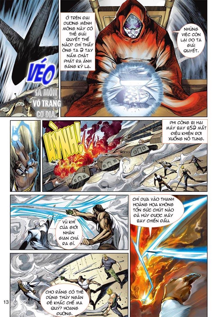 Thần Binh 4 chap 20 - Trang 13