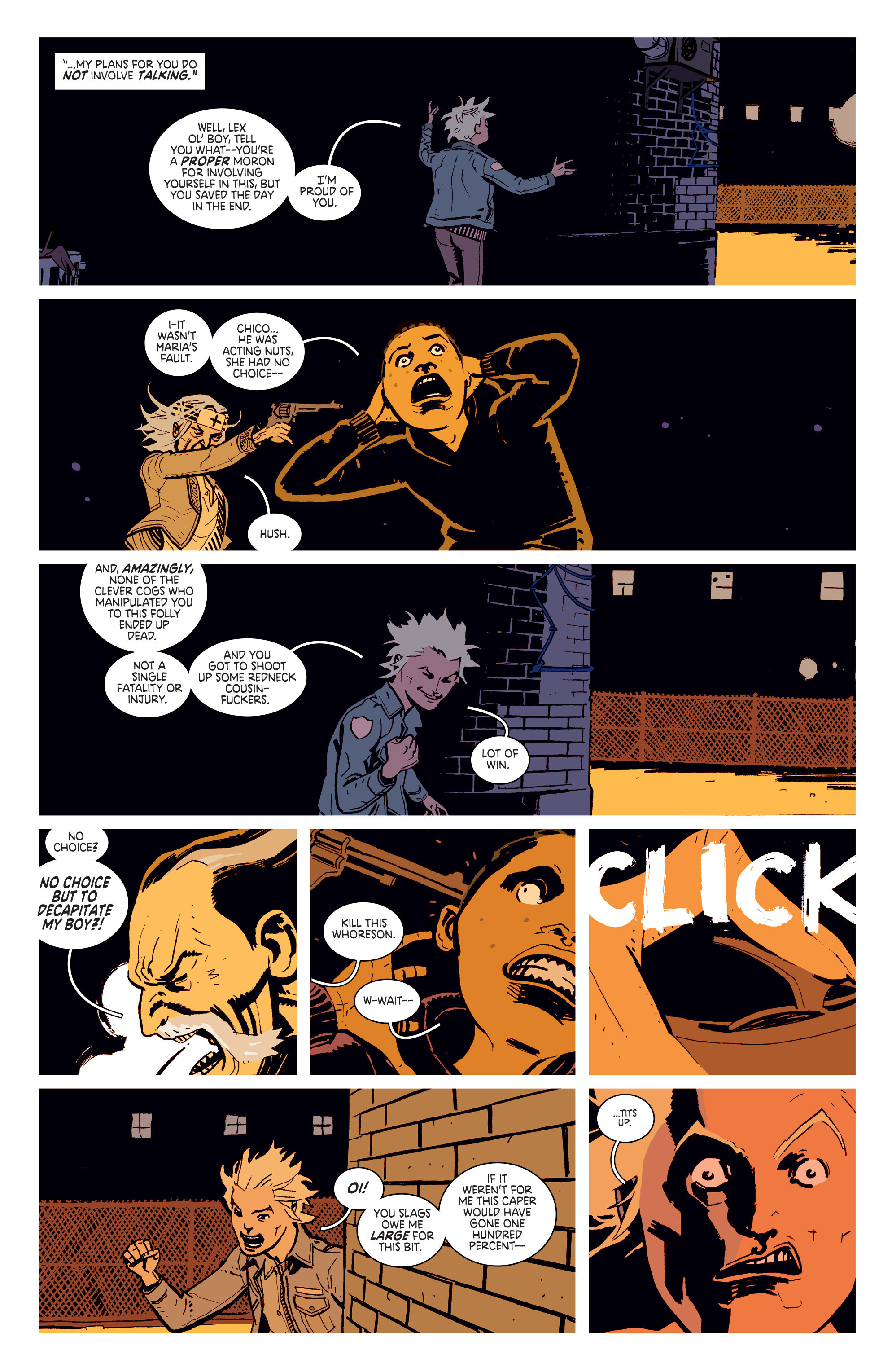 Read online Deadly Class comic -  Issue # _TPB 3 - 8