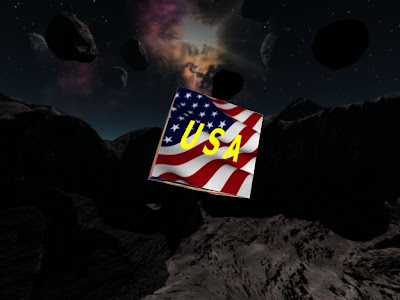Click to view USA Screensaver 1.0 screenshot