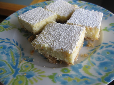 lemon lime dream bars