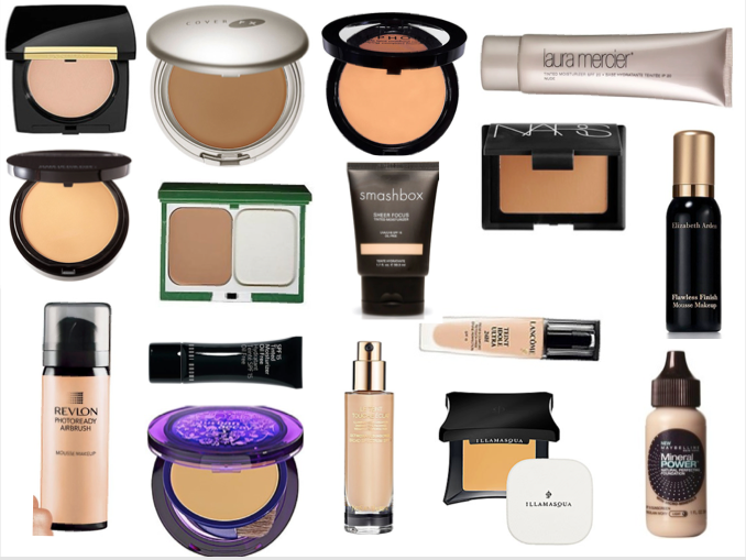How to choose and test the best foundation for your skin for Different types of foundations