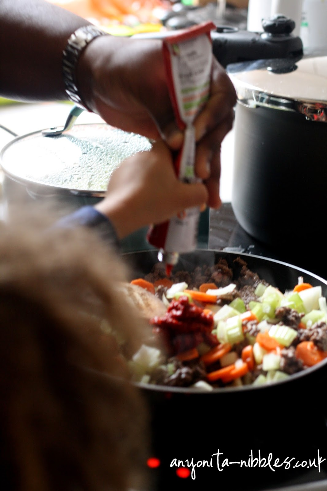 Tomato paste into cottage pie anyonita-nibbles.co.uk