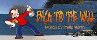 photo of Back to the Wall, Phillip Martin, murals