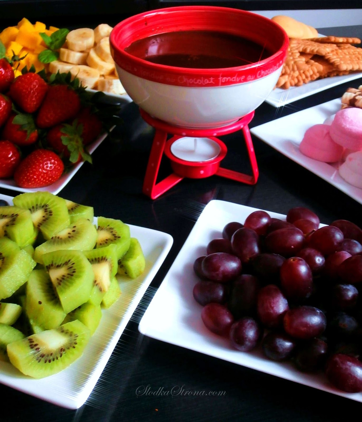 Fondue Czekoladowe - Przepis - Słodka Strona