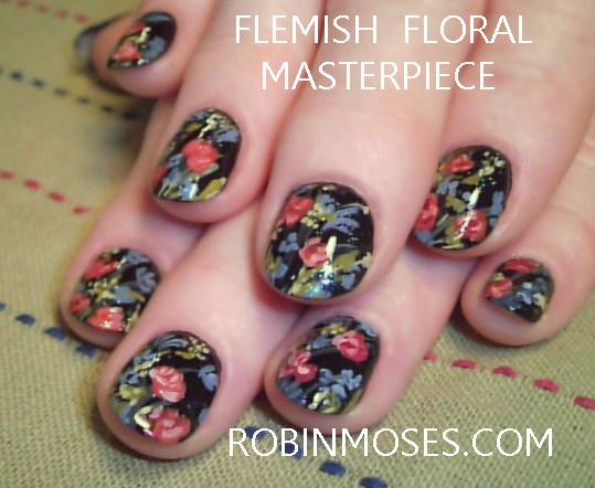 Robin moses nail art leopard print nail art soft pink leopard leopard print nail art soft pink leopard print black floral nail art flower nail art prinsesfo Choice Image