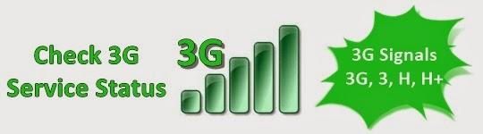 Check 3G Service Status