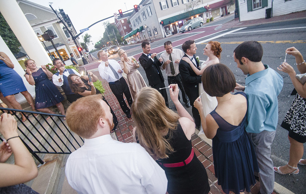 Wedding Photography at Old Town Hall in Fairfax